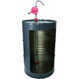 POMPE MANUELLE ROTATIVE ACIER p/ FIOUL / GASOIL / LUB FLUIDE
