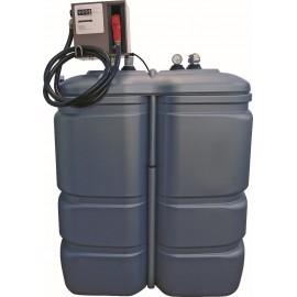 CUVE pour GAZOIL DOUBLE ENVELOPPE PEHD 1000L