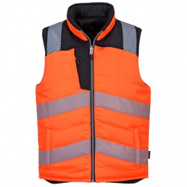 BODYWARMER REVERSIBLE HV