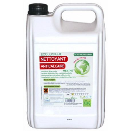 NETTOYANT ANTICALCAIRE parfum MENTHE ECOLABEL