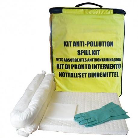 SAC INTERVENTION POLLUTION 45L spécial PRODUITS CHIMIQUES